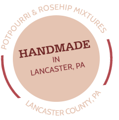 handmade in lancaster county seal