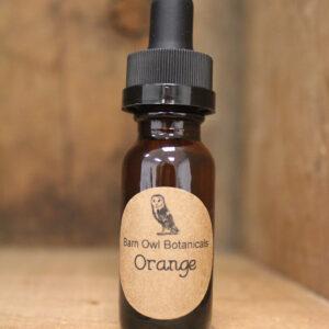 orange scented oil